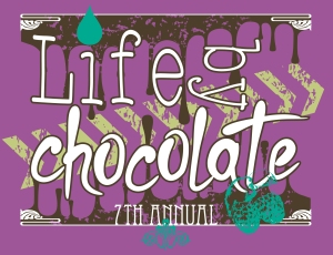 Life by Chocolate Final on purple (2)
